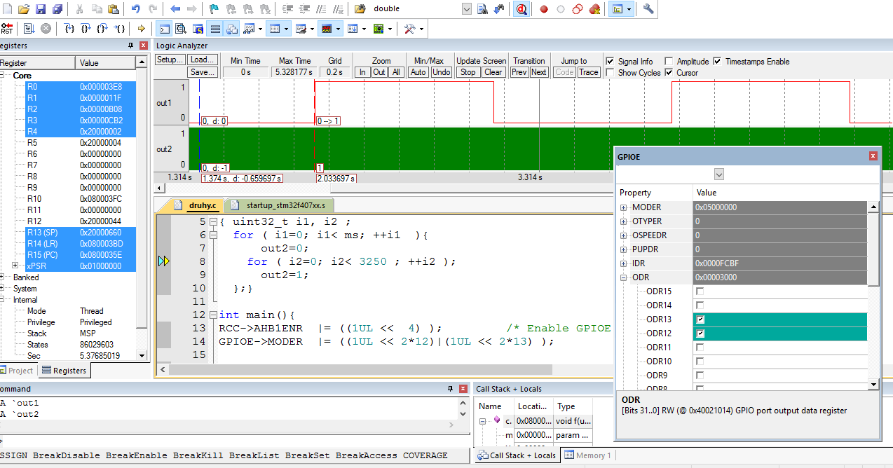 Stedn Prmyslov Kola Elektrotechnick Havov Pspvkov Circuit Design Suite Screenshot 13 Projects We Make In Keil Vision 5 Ide With Compiler Language C Namely Photo